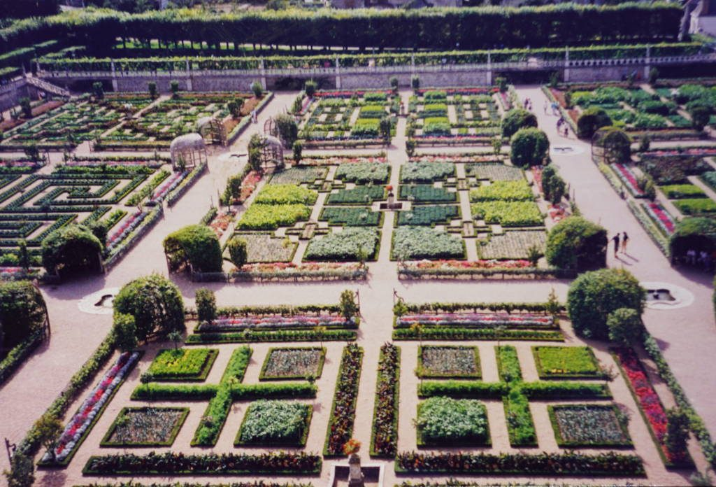 Castelo de Villandry - Castelos na França - Os 5 Top no Vale do Loire