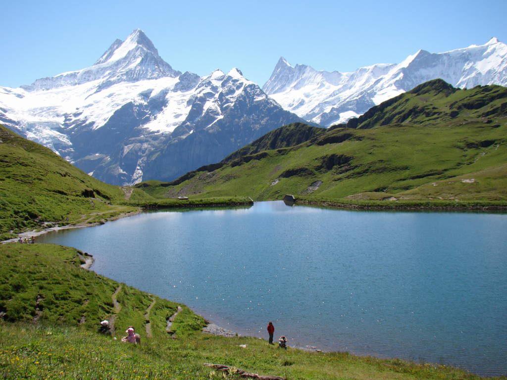 O Lago - Trilha Grindelwald First até o Bachalpsee