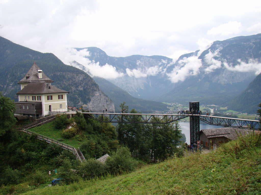 Rudolfsturm junto à Skywalk - Hallstatt Áustria - Atrações e Dicas