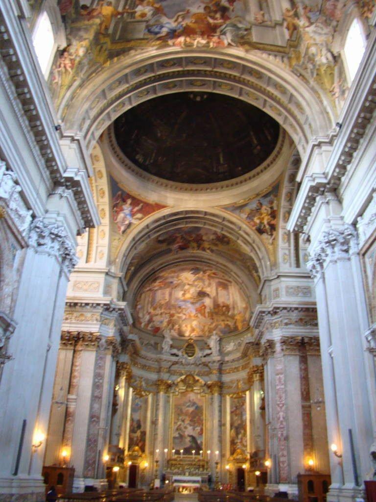 Igreja de Sant'Ignazio di Loyola- Pontos Turísticos de Roma - O que fazer em 3 dias