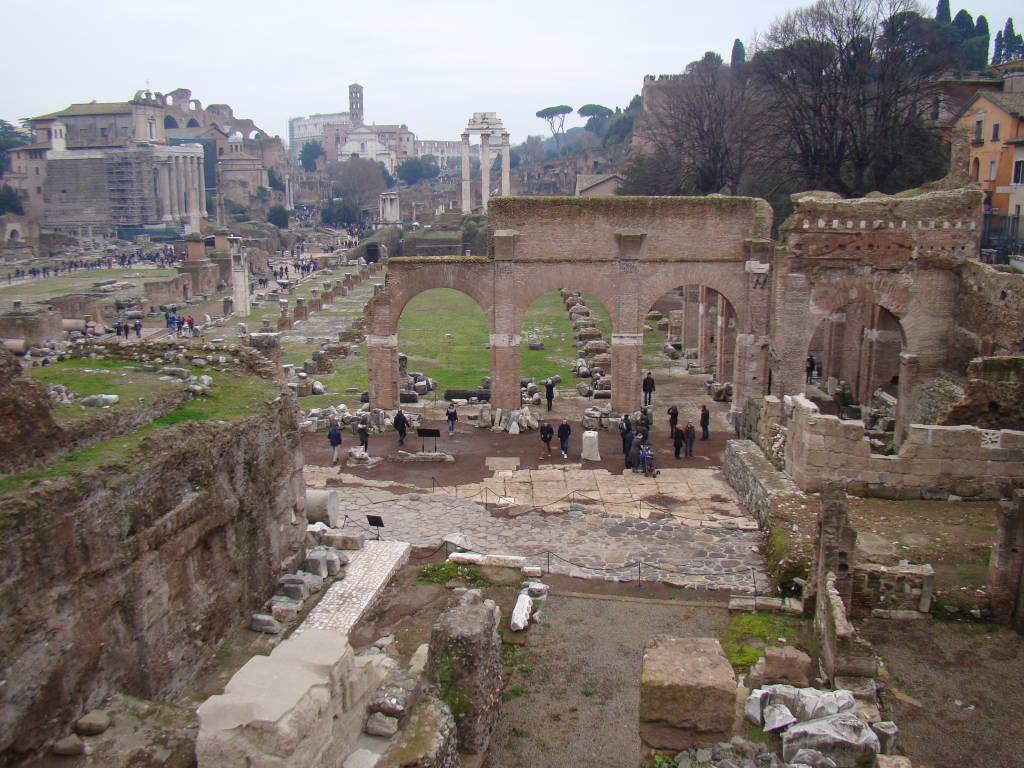 Fórum Romano - Pontos Turísticos de Roma - O que fazer em 3 dias