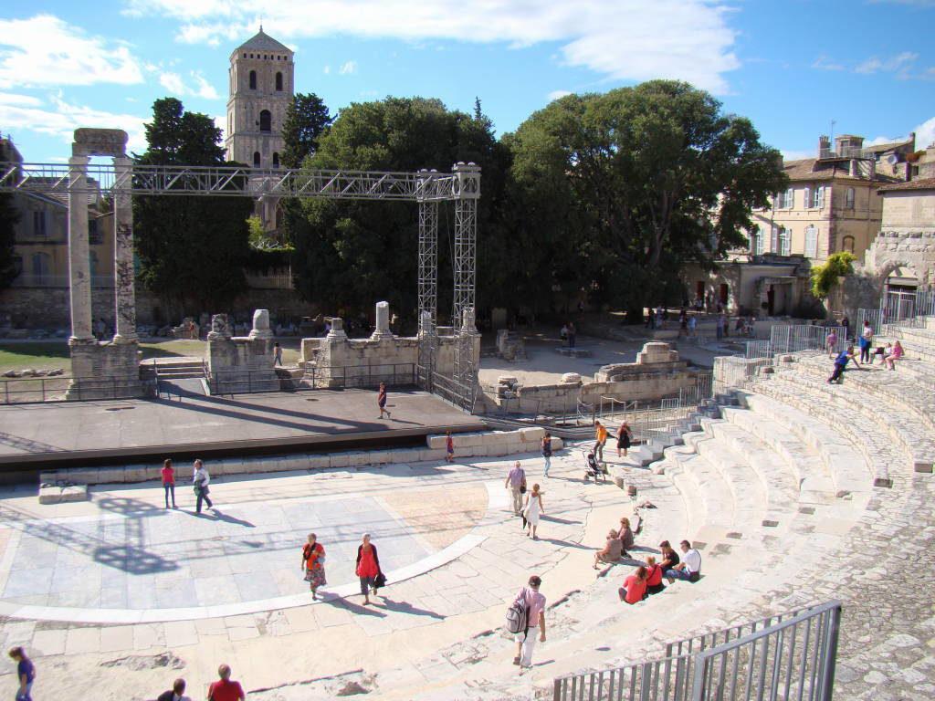 Teatro Antigo - Arles França no Natal - Pontos Turísticos e Programação