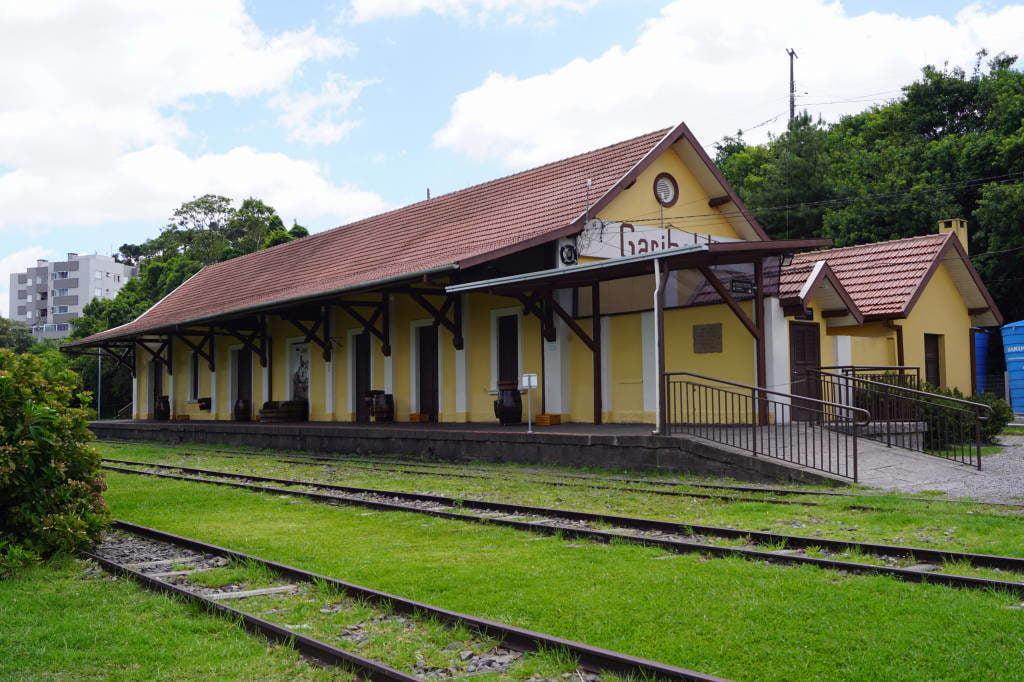 Estação Maria Fumaça em Garibaldi