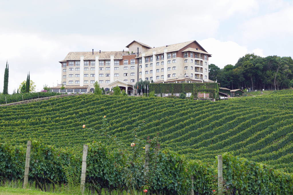 Spa e Hotel do Vinho -Vale dos Vinhedos - Bento Gonçalves