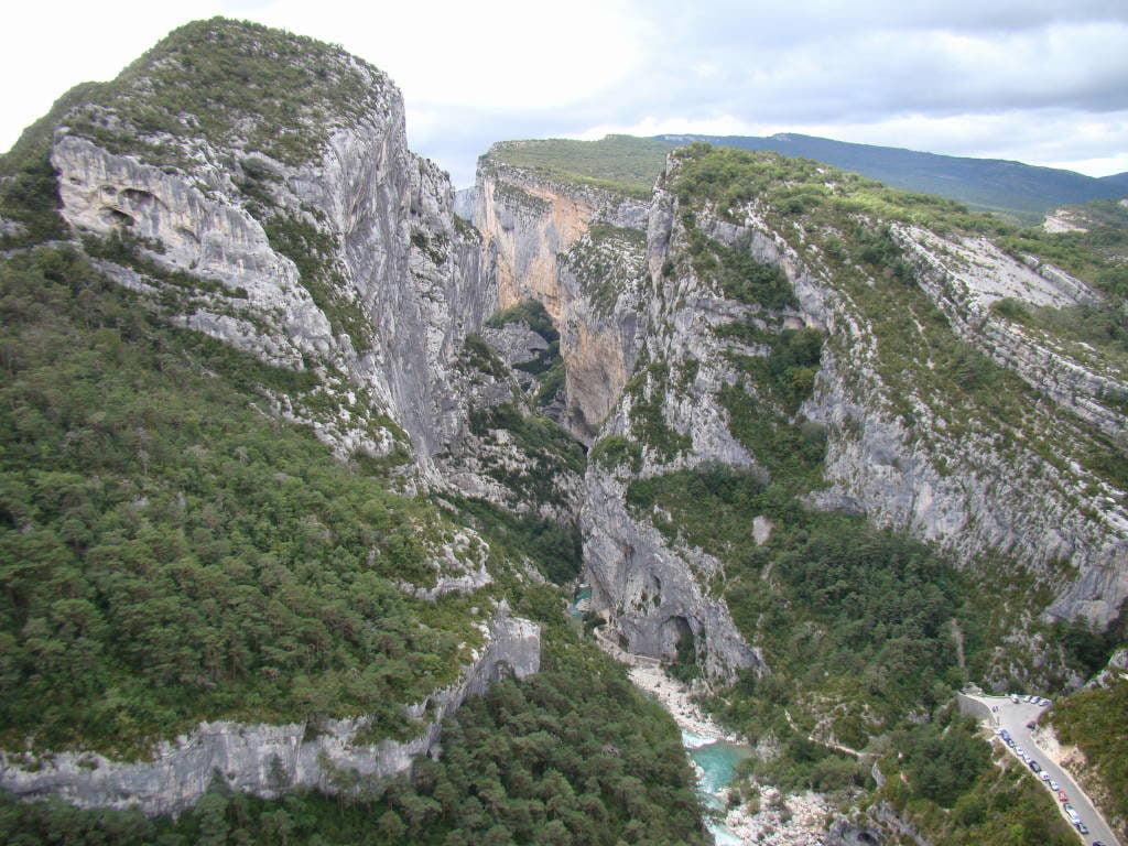 Gorge du Verdon - Campos de lavanda e girassóis na Provença