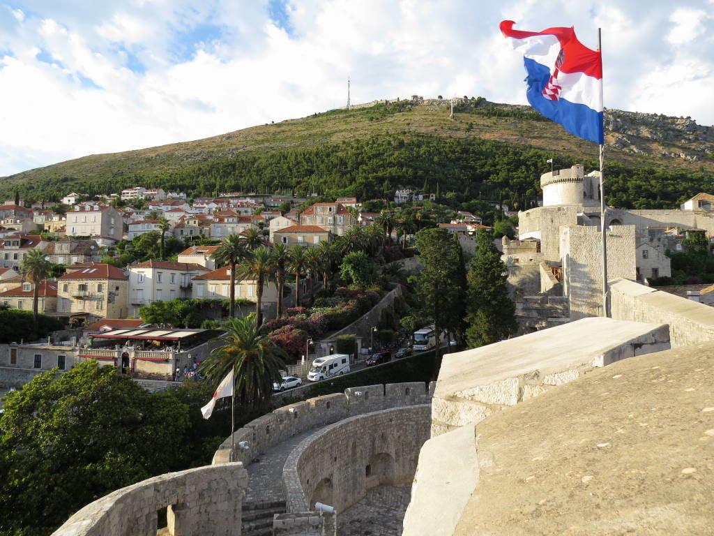 Muralhas - O que fazer em Dubrovnik Croácia
