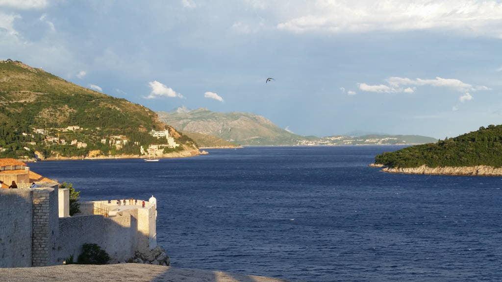 Vista das muralhas - O que fazer em Dubrovnik Croácia