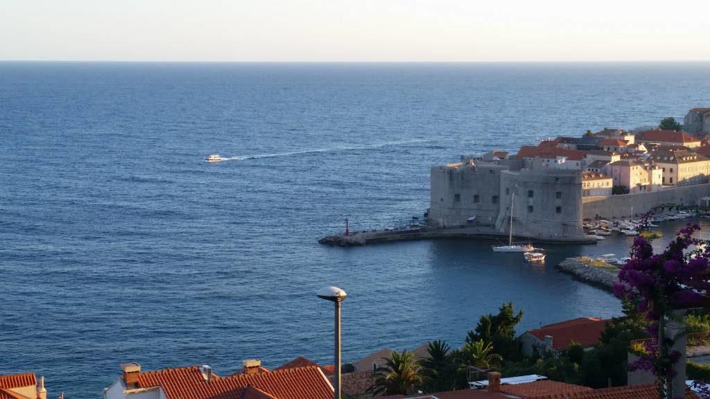 Vista do 87 Stairs - O que fazer em Dubrovnik Croácia