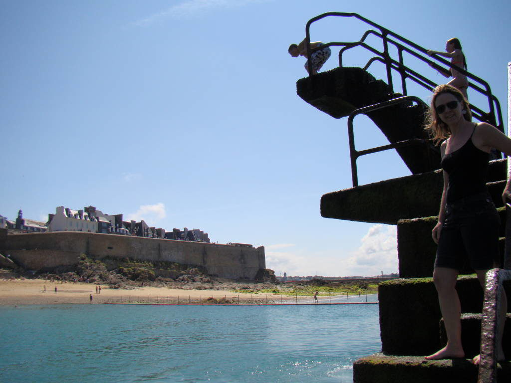 Maré baixa - Bretanha - O que fazer em Saint-Malo França