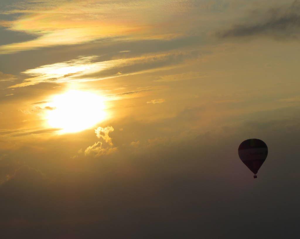 Passeio de balão no Vale do Loire França