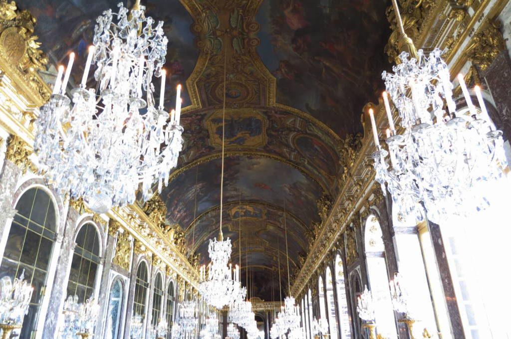 O Hall dos Espelhos - O Palácio de Versalhes