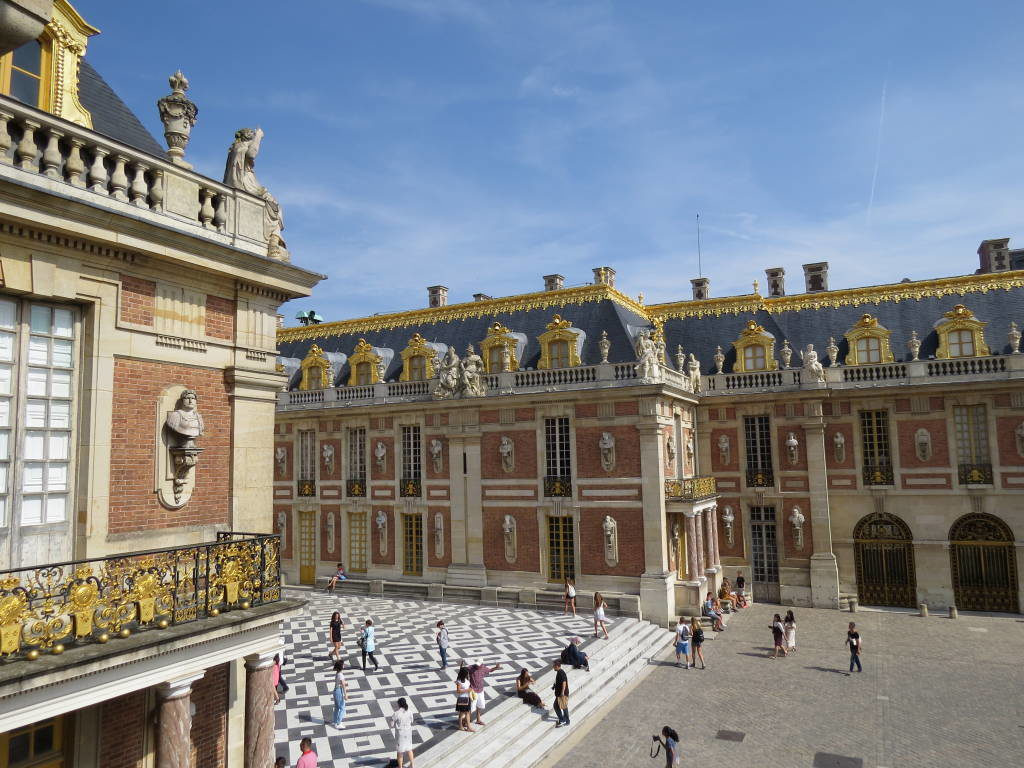 O Palácio de Versalhes França