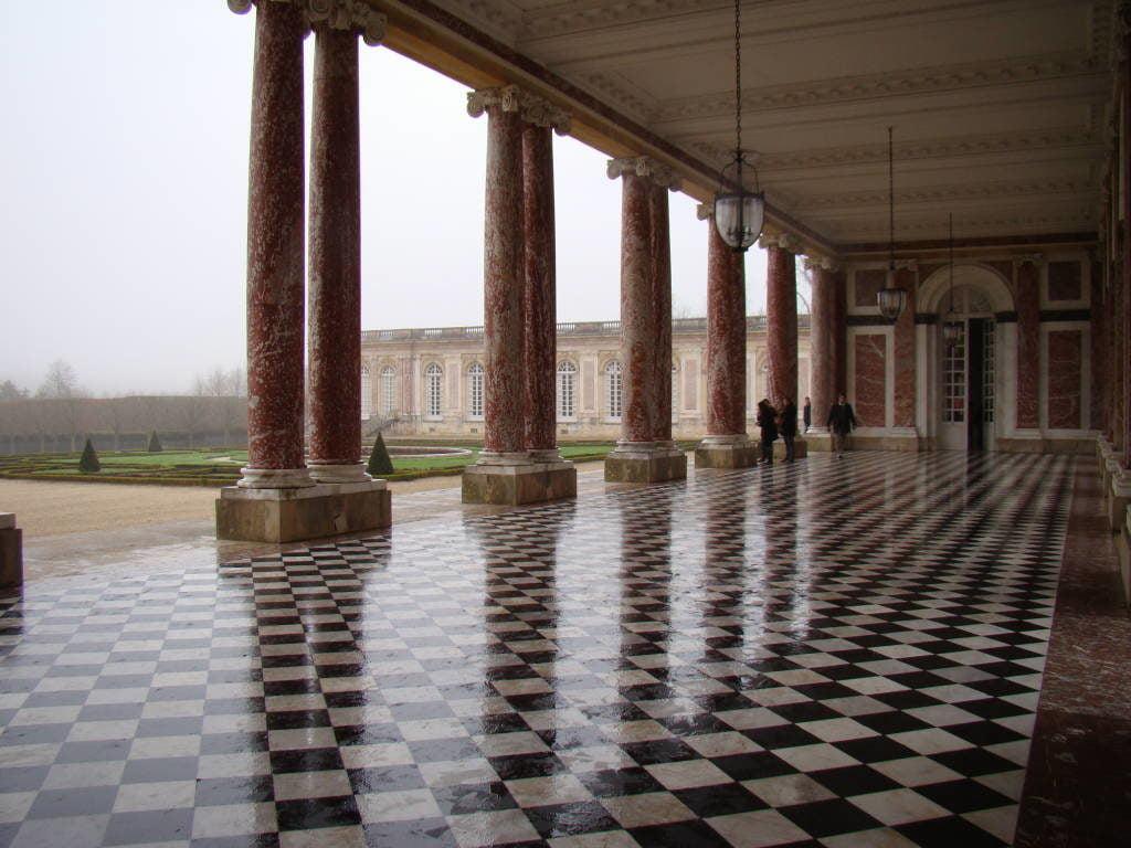 O Grand Trianon - O Palácio de Versalhes França