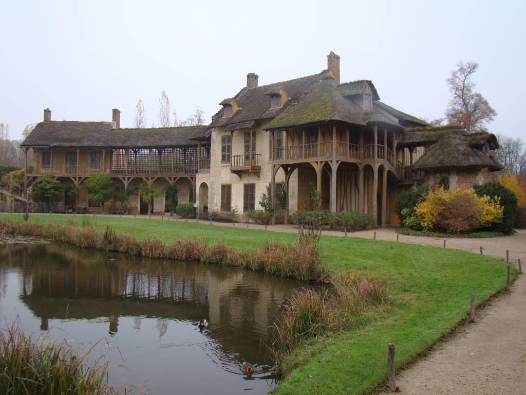 A casa da rainha - O Palácio de Versalhes