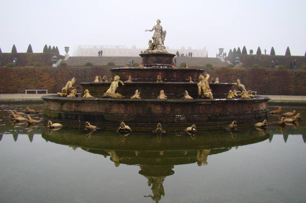 Fonte de Latona - O Palácio de Versalhes França