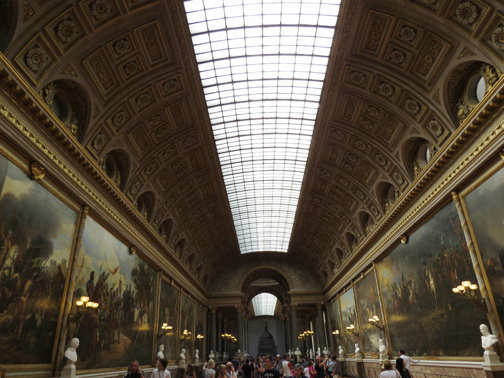 A Galeria das Grandes Batalhas - O Palácio de Versalhes França