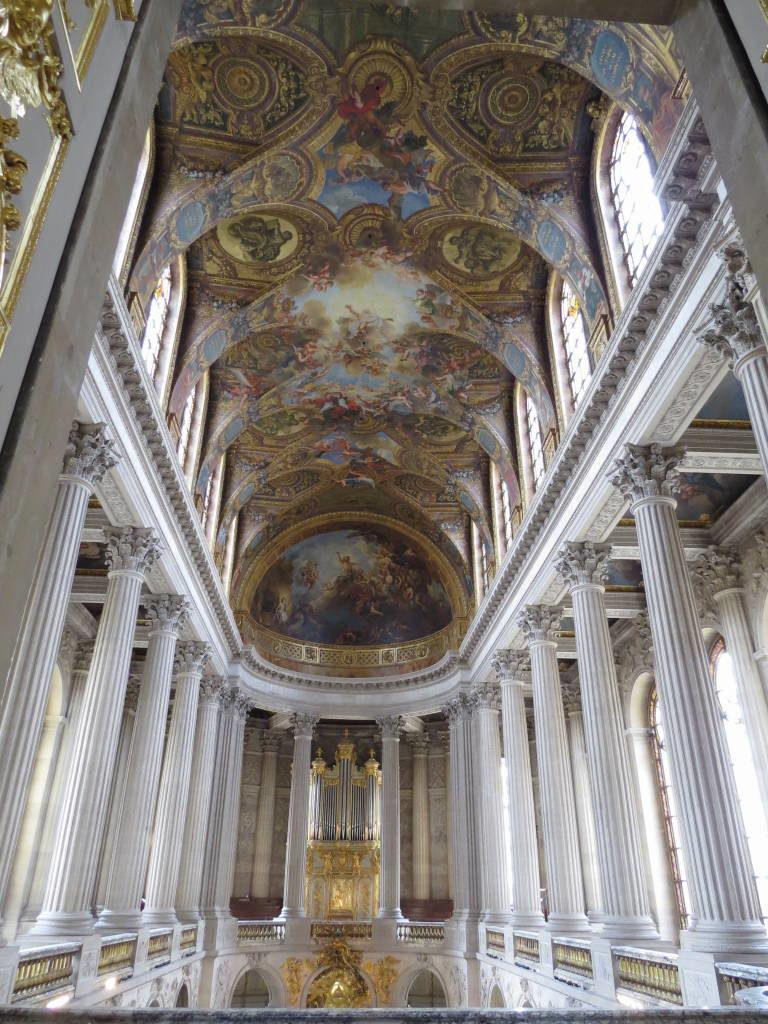 A Capela Real - O Palácio de Versalhes França