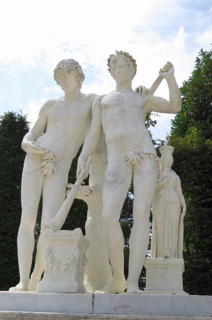 O jardim - O Palácio de Versalhes França