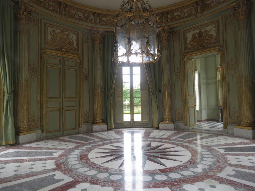 O Pavilhão Francês do Petit Trianon - O Palácio de Versalhes França