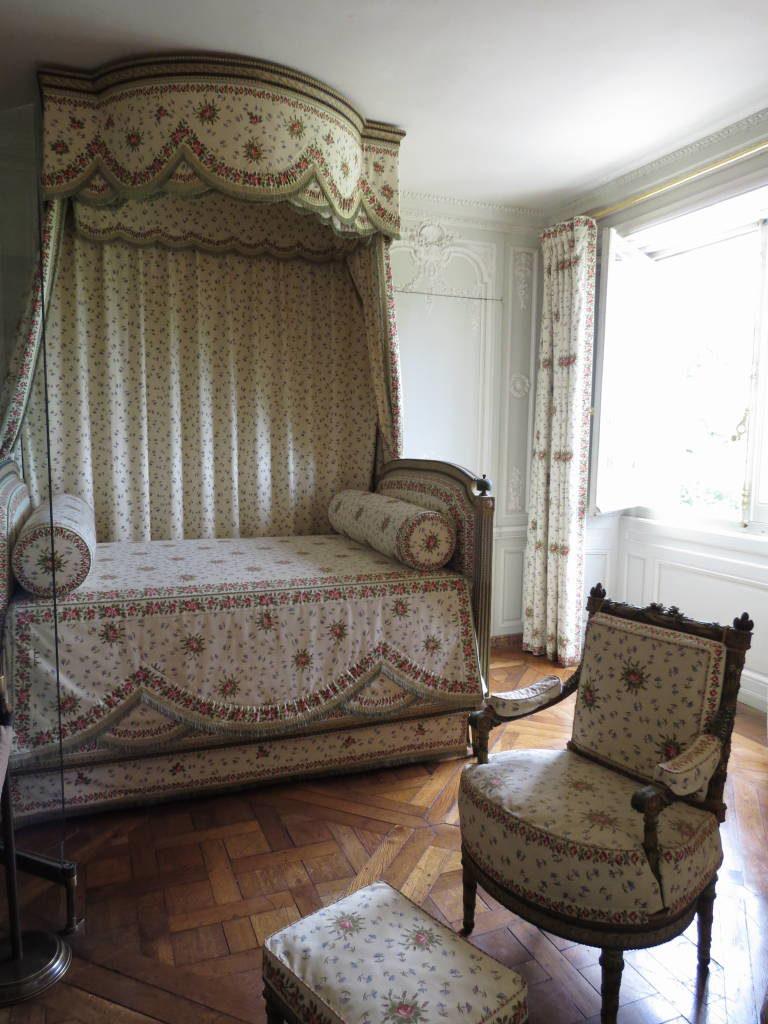 Quarto de Maria-Antonieta no Petit Trianon - O Palácio de Versalhes França