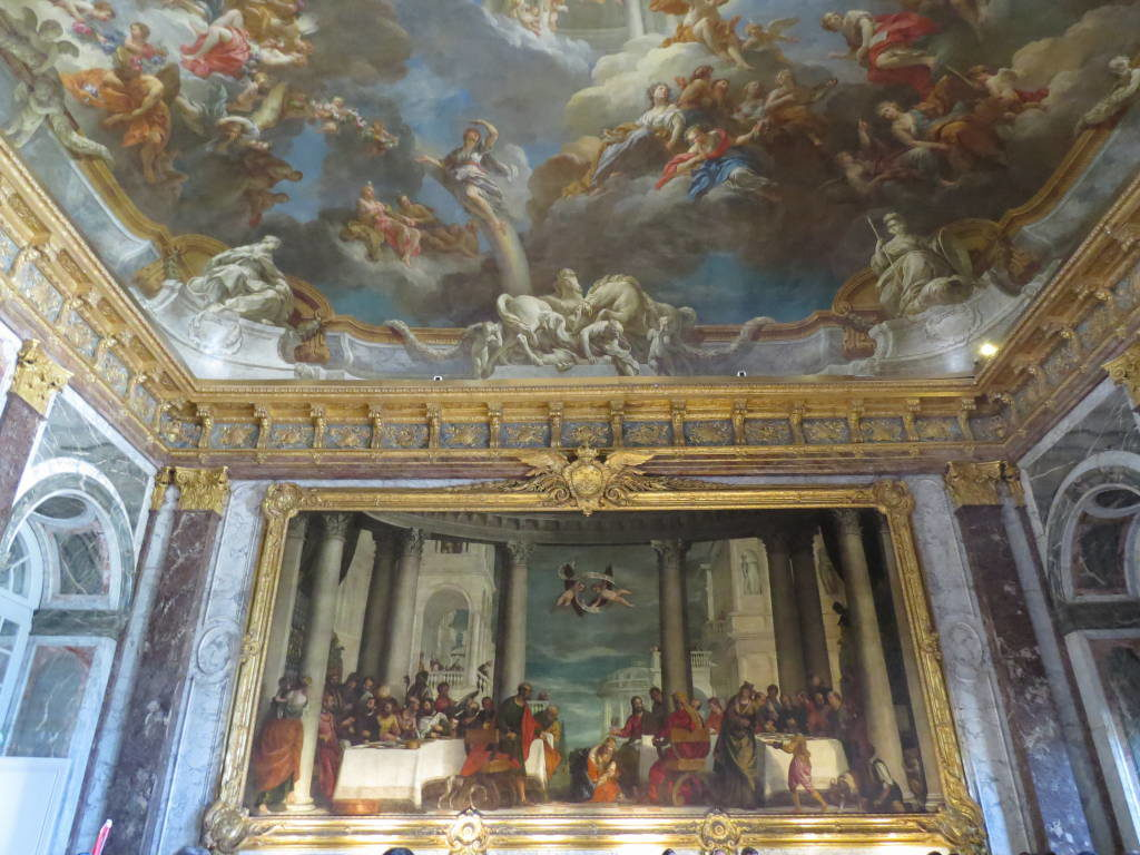 Sala de Hércules - O Palácio de Versalhes França