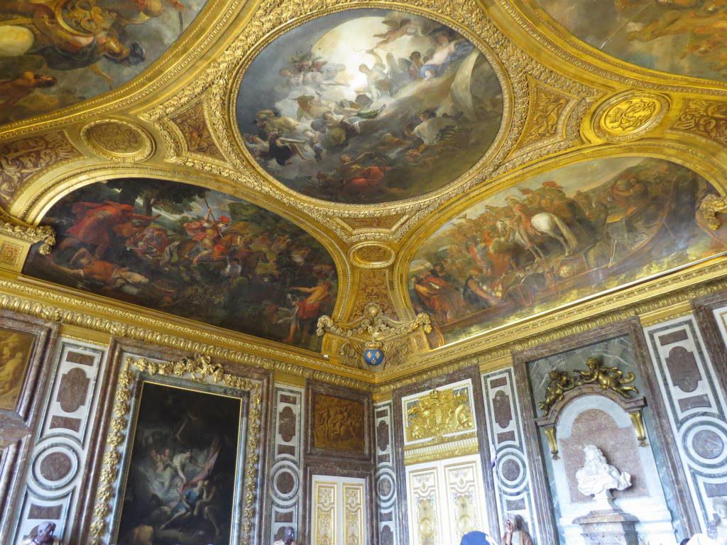 A Sala de Diana - O Palácio de Versalhes França