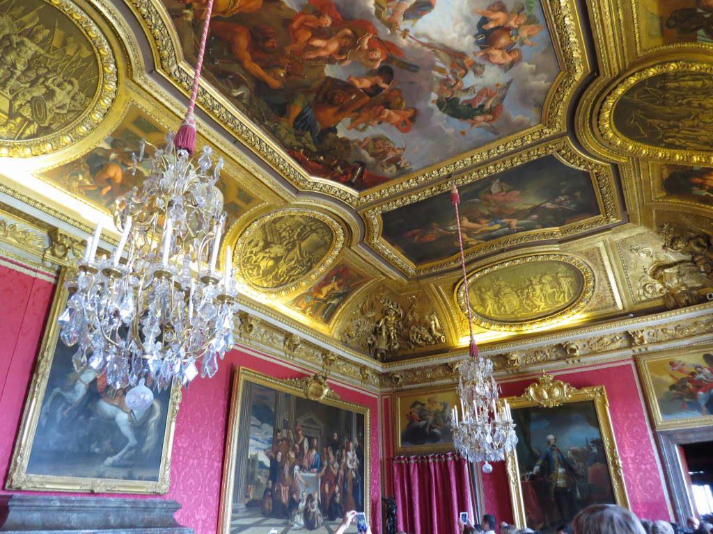 A Sala de Marte - O Palácio de Versalhes França