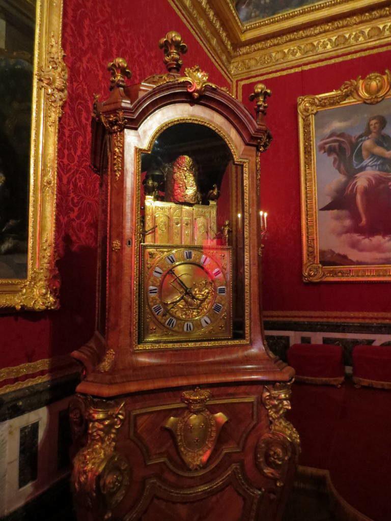 A Sala de Mercúrio - O Palácio de Versalhes França
