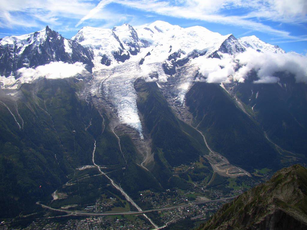Vista do Le Brévent - O que fazer em Chamonix França
