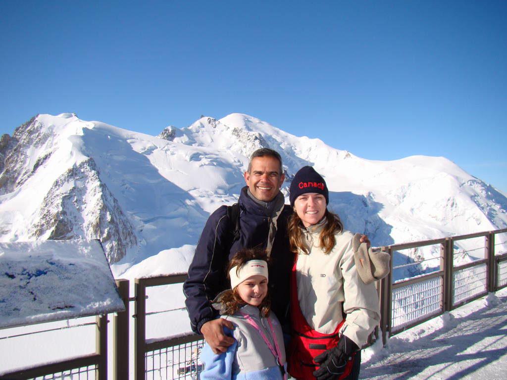 Mont Blanc visto da Aiguille du Midi - O que fazer em Chamonix França