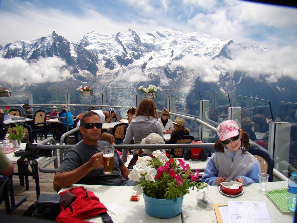 Restaurante Panoramique Le Brévent - O que fazer em Chamonix França
