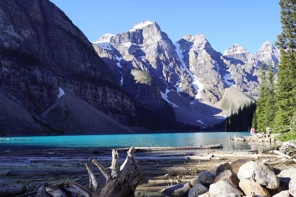 Shoreline Trail - Lago Moraine Canadá - Moraine Lake Canadá