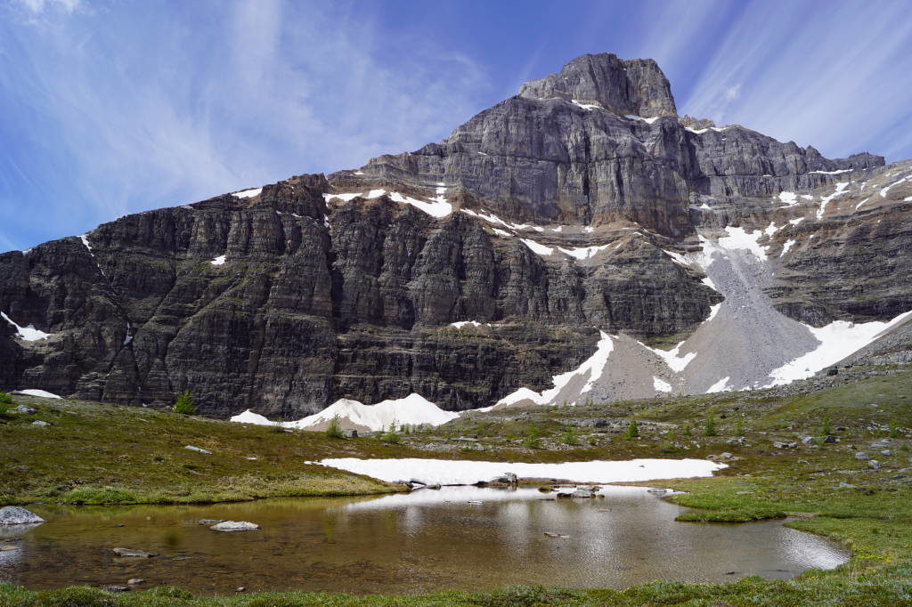 Sentinel Pass Trail - Lago Moraine Canadá - Moraine Lake Canadá