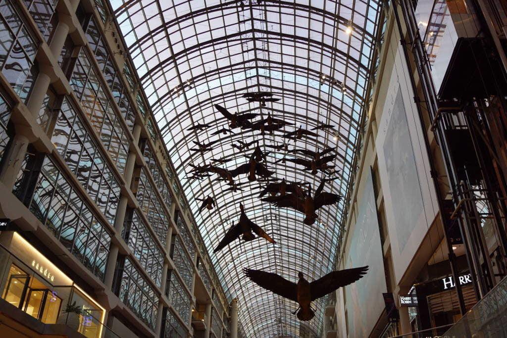 Eaton Centre - O que fazer em Toronto