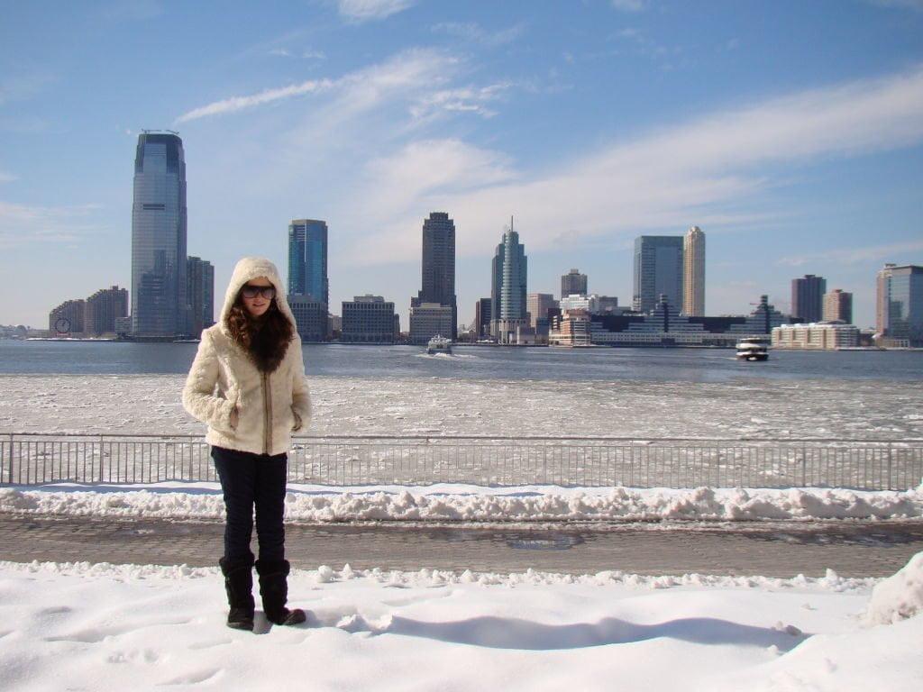 Vista do World Financial Center - World Financial Center - O que fazer em Nova York no inverno - Com neve!