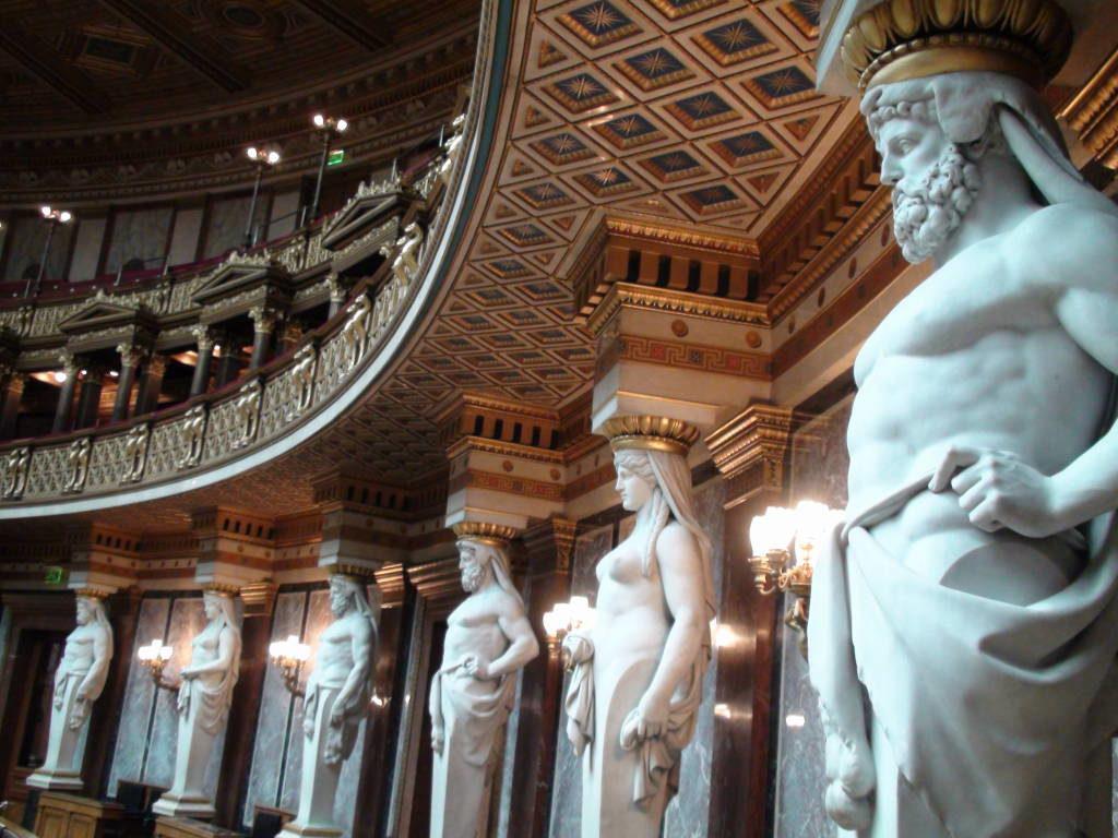 Parlamento - O que fazer em Viena Áustria