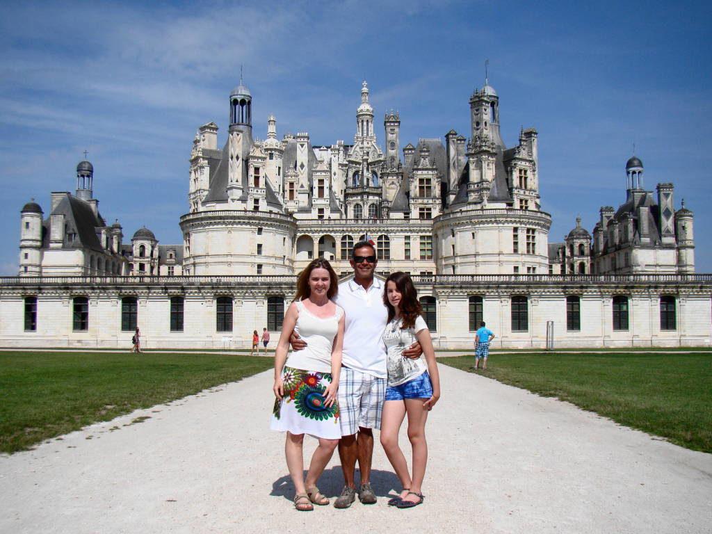 Castelo de Chambord -Castelos na França - Os 5 Top no Vale do Loire