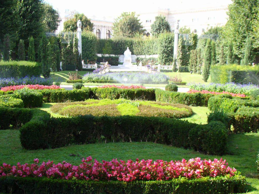 Volksgarten - O que fazer em Viena Áustria