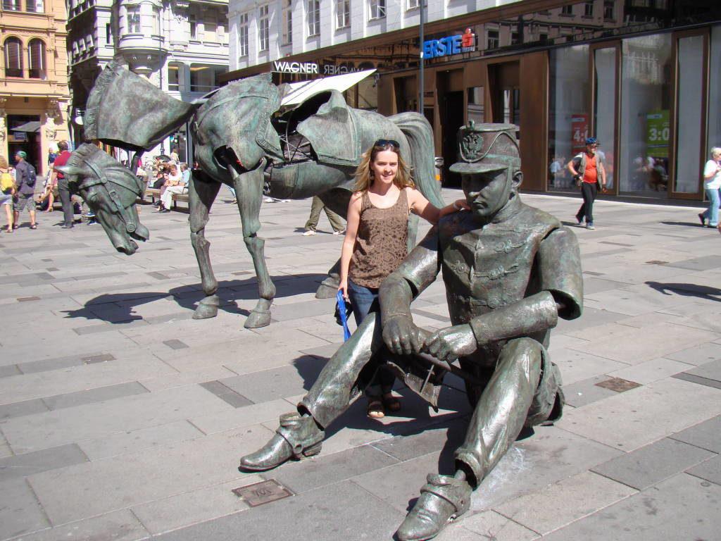 Rua Graben - O que fazer em Viena Áustria