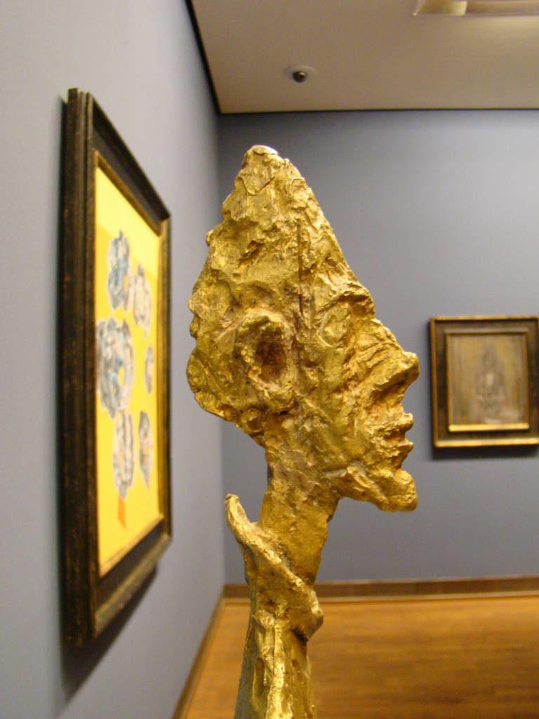 Obra de Giacometti - Albertina - O que fazer em Viena Áustria