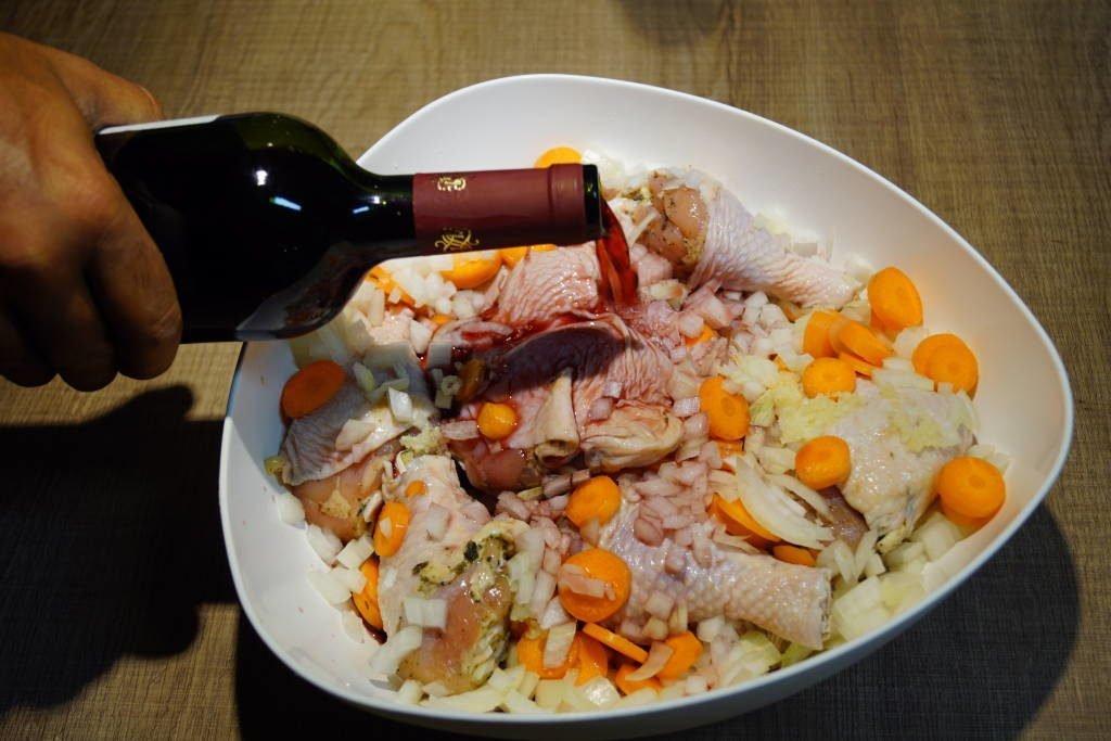 Comida Típica da França - Coq au Vin