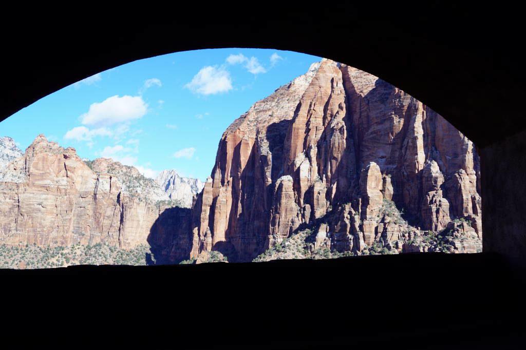 O Túnel - Zion National Park Utah EUA