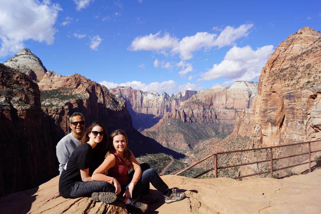 Canyon Overlook Trail - Zion National Park Utah EUA