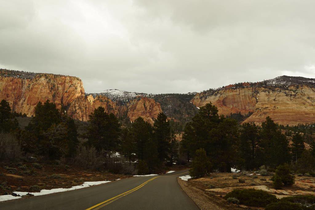 Kolob Terrace Road - Zion National Park Utah EUA
