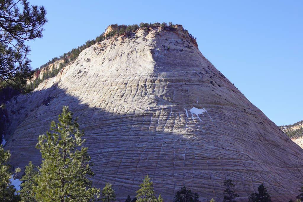 Checkerboard Mesa - Zion National Park Utah EUA