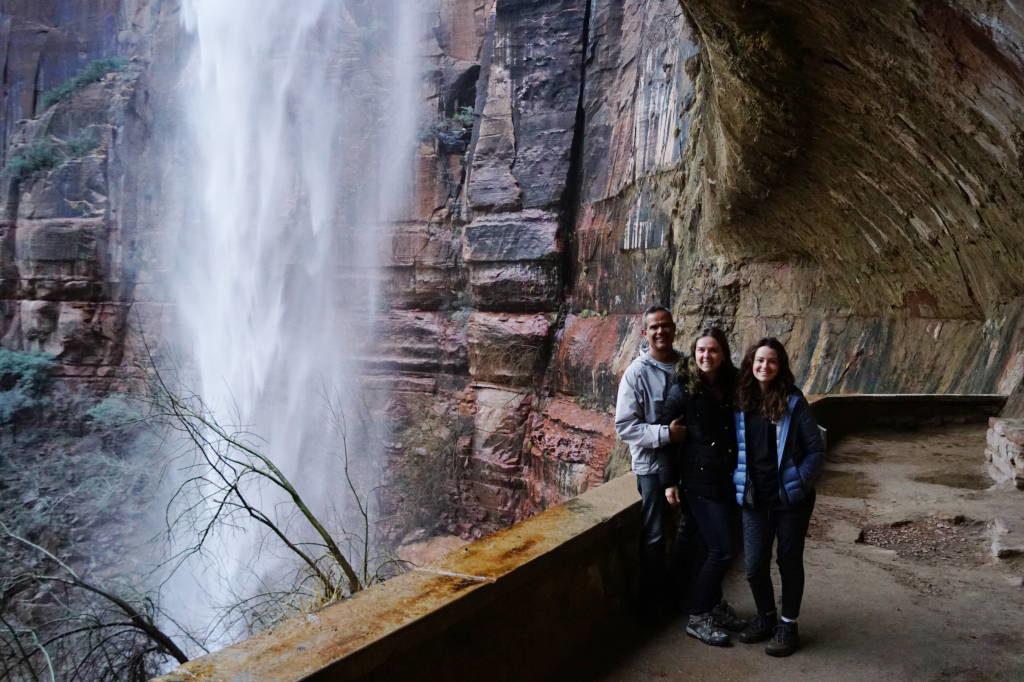 Wheeping Rock Trail - Zion National Park Utah EUA