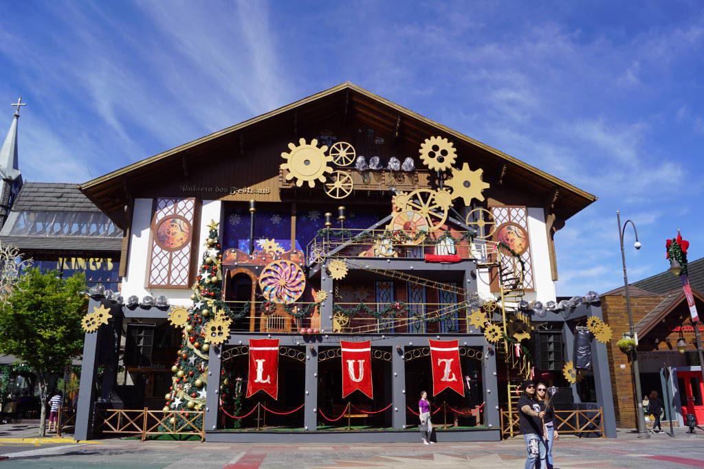 Palácio dos Festivais - O que fazer em Gramado no Natal 2019/2020