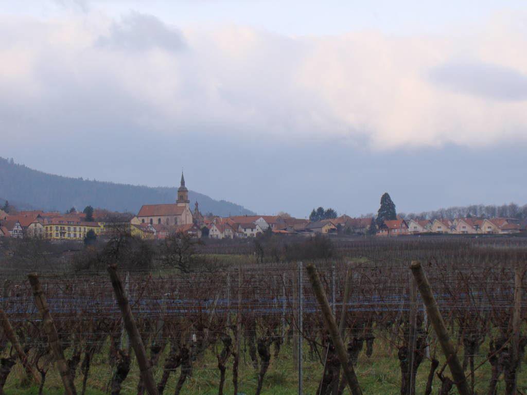 Rota do Vinho da Alsácia França no Natal