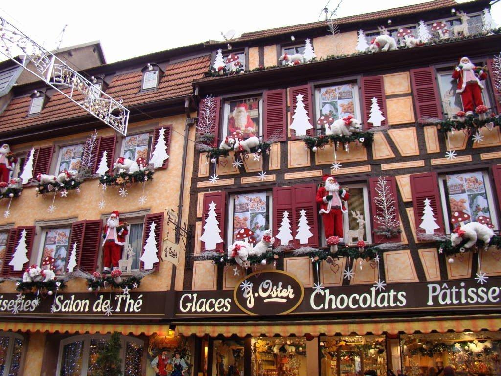 Barr - Rota do Vinho da Alsácia França no Natal