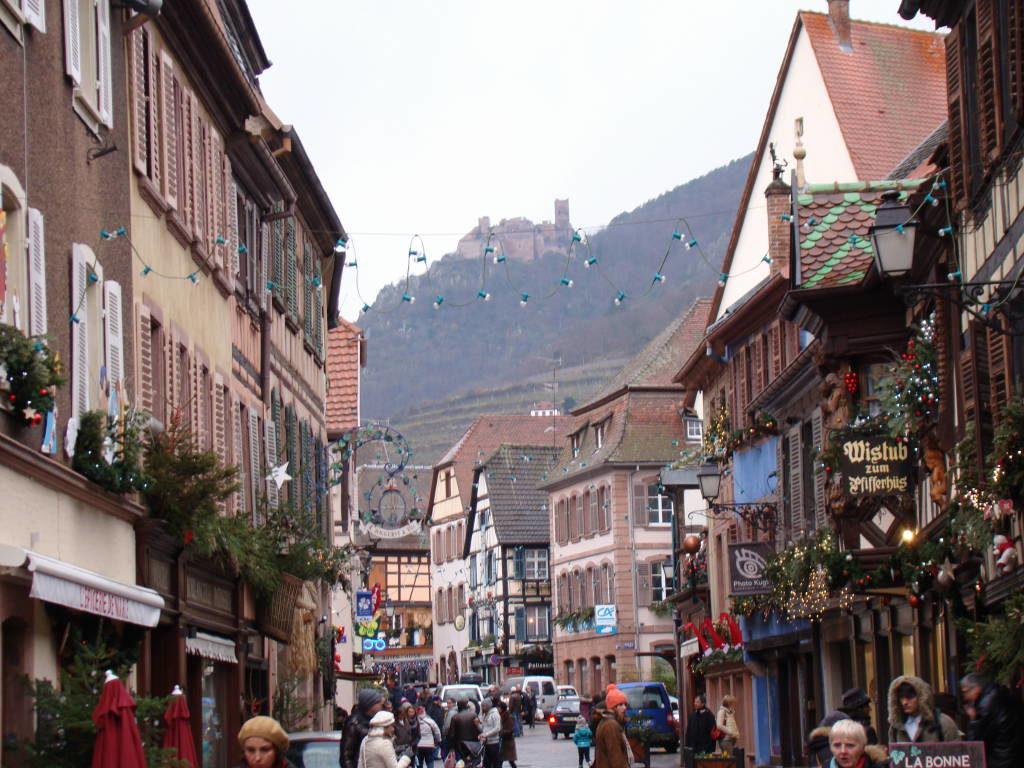 Ribeauvillé - Rota do Vinho da Alsácia França